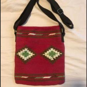 American Eagle Tribal Print Cross Body Bag